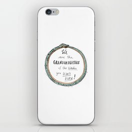 Ouroboros of the Witches iPhone Skin