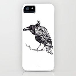 cuervo iPhone Case