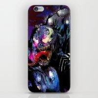 venom iPhone & iPod Skins featuring Venom by Vincent Vernacatola