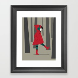 There is No Wolf Framed Art Print