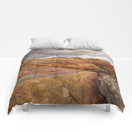 Canyon Overlook - Valley_of_Fire_State_Park, Nevada Comforters