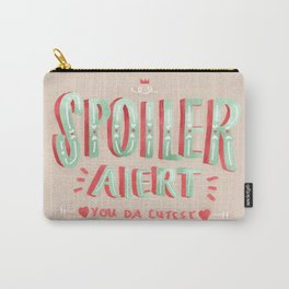 Spoiler Alert Carry-All Pouch