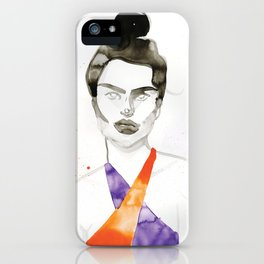 Emily In A Swimsuit iPhone Case