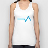 ski Tank Tops featuring Ski Hoth by FloresArts