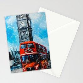 LONDON RAIN Stationery Cards