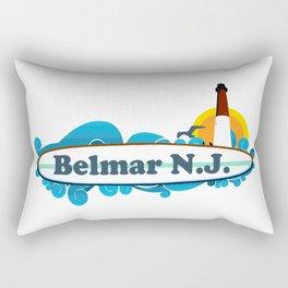 Belmar - New Jersey. Rectangular Pillow
