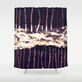 Down and Up Shower Curtain