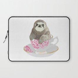 Cuppa Sloth Laptop Sleeve