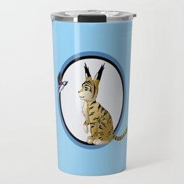 Poko & Yuki - Feral  Travel Mug