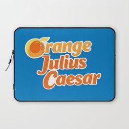 Orange Julius Caesar Laptop Sleeve