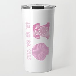 KG Beauty Call Me On My Shell Phone Travel Mug