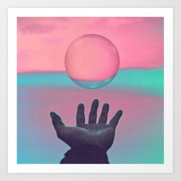 Seek New Horizons Art Print