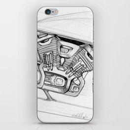 Cafe Racer iPhone Skin