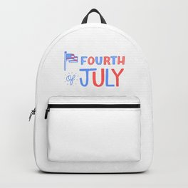 Fourth of July!  Backpack