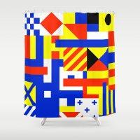 sail Shower Curtains featuring Sail by Jan Luzar