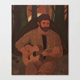 Joel (The Last of Us) Canvas Print