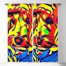 Havapoo Color Splash Art Blackout Curtain