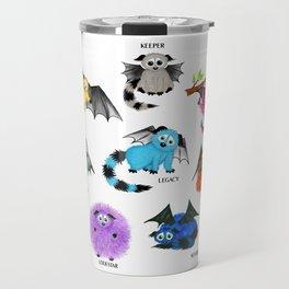 Eight Little Iggys Travel Mug