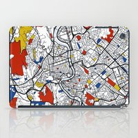 rome iPad Cases featuring Rome by Mondrian Maps