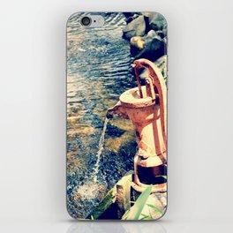 waterfountain2 iPhone Skin