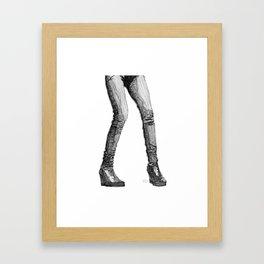 Fuss & Fight Framed Art Print