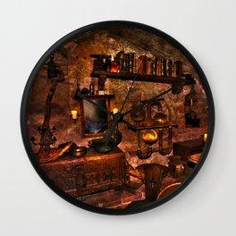 Black Magicians Room Wall Clock
