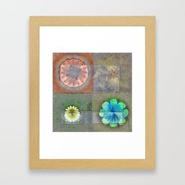 Fast Actuality Flower  ID:16165-084338-75791 Framed Art Print