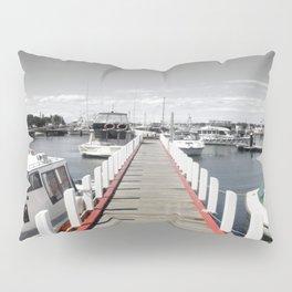 Follow the red Line Pillow Sham