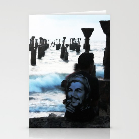 Che by the sea Stationery Cards