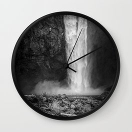 Power in Nature Wall Clock