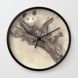 "Pet ""Possum"" Wall Clock"