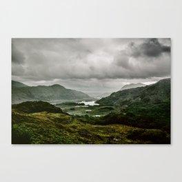 Ladies View Kerry Ireland Canvas Print