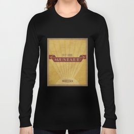 Spicy Brown Mustard Long Sleeve T-shirt