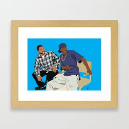 Friday Movie Classic Movie Poster - 90's Art, Hip Hop Poster, Black Art, Home Office Art, dorm art Framed Art Print