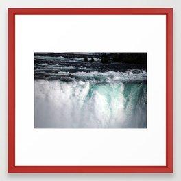 Sheer Power Framed Art Print