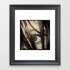 Eye-Dentify Framed Art Print