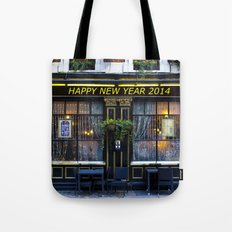 Happy new year 2014 pub Tote Bag
