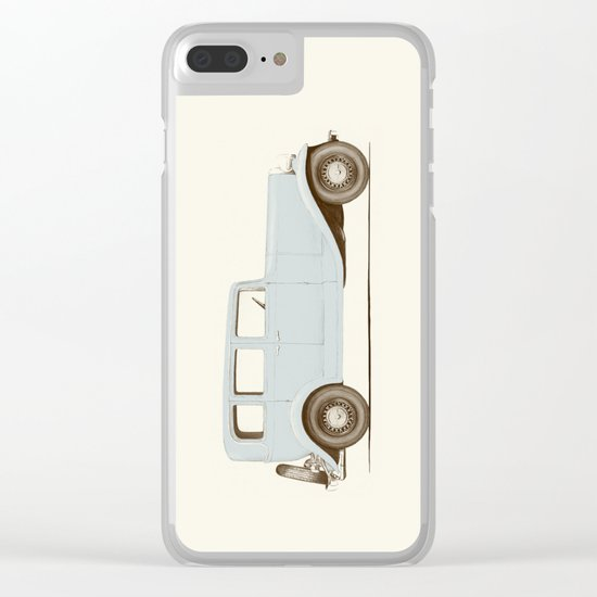 Car of the 1930's Clear iPhone Case