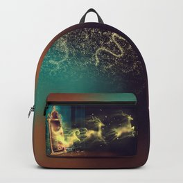 Christmas Mirror  Backpack