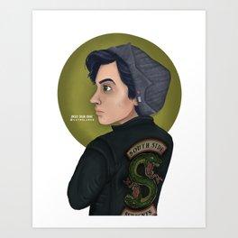 Riverdale: Jughead Jones Art Print