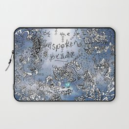 Everything that is Said on the Unspoken Plane Laptop Sleeve