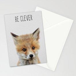 Woodland Fox-Nursery Woodland Art,  Stationery Cards