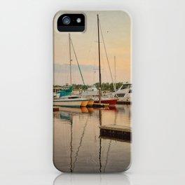 Wilmington City Docks on the Riverwalk iPhone Case