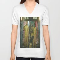 guardians of the galaxy V-neck T-shirts featuring Guardians of The Galaxy by Kelsey