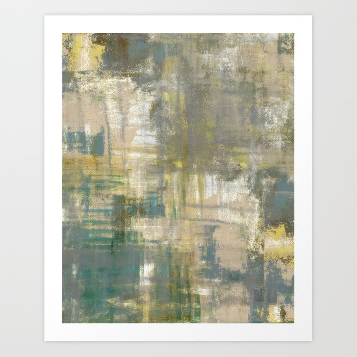 Abstract Art Abstract Painting Color Block Bright Colors Geometric Print Modern Painting Art Print By Amylighthall