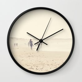 surfing life II Wall Clock