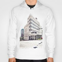 theater Hoodies featuring Historic Tacoma Theater by Vorona Photography