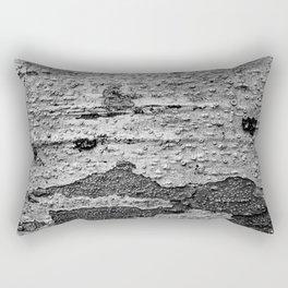 Tree Texture Camouflage Pattern Rectangular Pillow