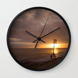 Caistor Sunrise Wall Clock