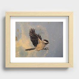 Chickadee Recessed Framed Print